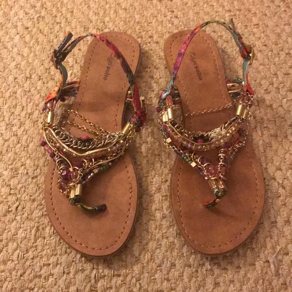 Zigi Soho Fairy Sandals Nwot